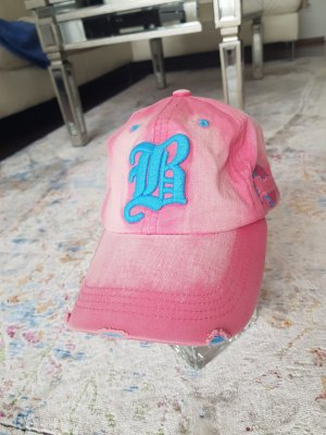 FORECASTER OF BOSTON Gorra de béisbol rosa-azul aciano