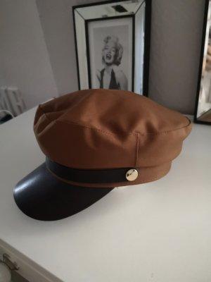 H&M Cappello con visiera nero-bronzo