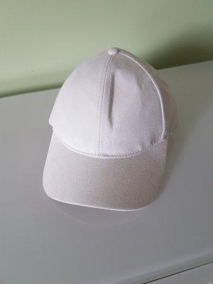H&M Berretto da baseball bianco sporco