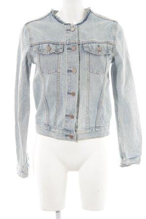 CAP Jeansjacke himmelblau Street-Fashion-Look