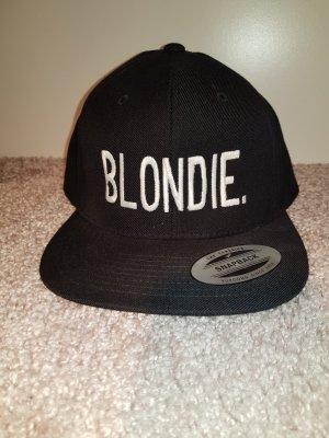 """Cap schwarz """"Blondie"""""""
