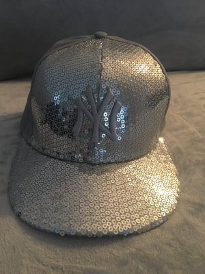 (The Mercer) NY Flat Cap silver-colored-light grey