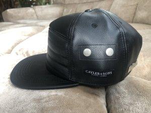 Cayler & Sons Baseball Cap black imitation leather
