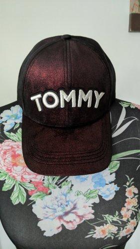 Tommy Hilfiger Gorra de béisbol rojo zarzamora