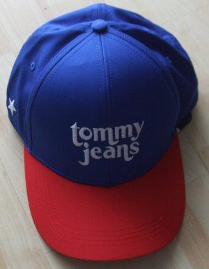 Tommy Hilfiger Casquette de baseball rouge-bleu polyester