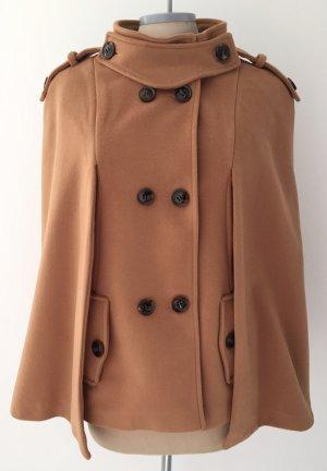 Cappotto in pile color cammello