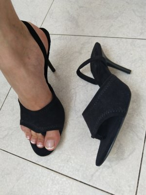 Cape Robbin High Heel Sandal black