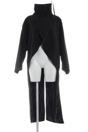Cape schwarz extravaganter Stil