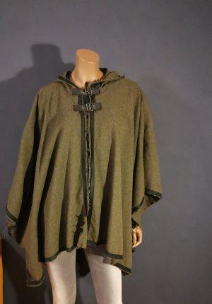 Diesel Black Gold Cappotto in lana verde scuro