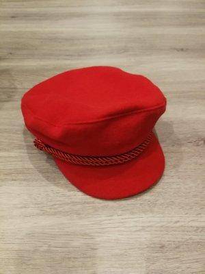 H&M Cappello con visiera rosso