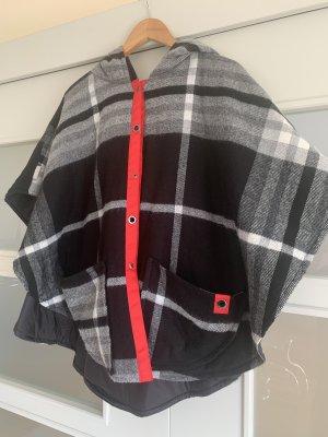 Fraas Cape multicolored cashmere