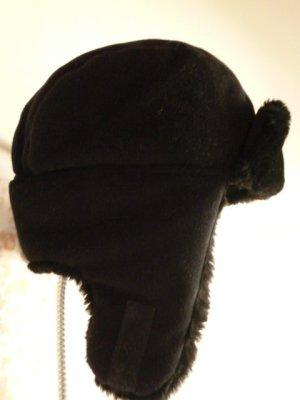 Capo Sombrero de piel negro Poliéster