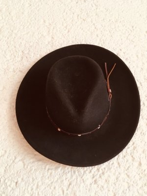 Felt Hat black wool