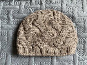 Capo Chapeau en tricot beige