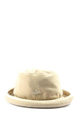 Capo Cappello in tessuto marrone stile casual