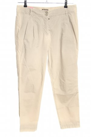 Cappellini Chinohose creme Business-Look