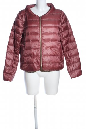 Cappellini Down Jacket red quilting pattern casual look