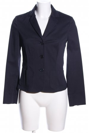 Cappellini Kurz-Blazer blau Business-Look