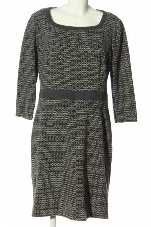 Cappellini Mini Dress light grey-white abstract pattern casual look