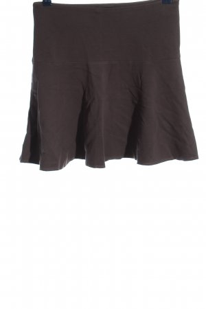 Cappellini Miniskirt bronze-colored casual look