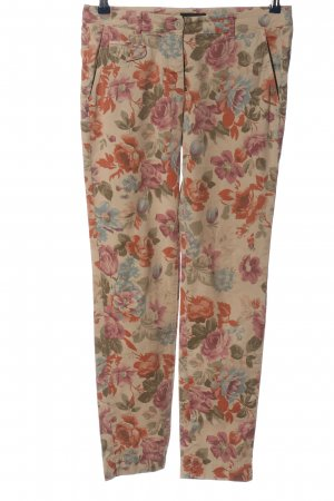 Cappellini Drainpipe Trousers allover print casual look