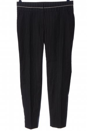 Cappellini Jersey Pants black-light grey striped pattern casual look