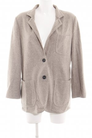 Cappellini Wool Blazer brown flecked business style
