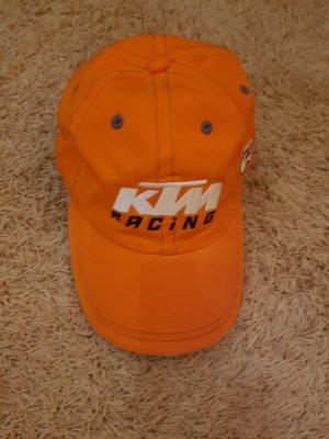 KTM Berretto da baseball bianco-arancione