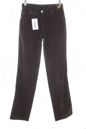 Cappopera Corduroy Trousers brown casual look