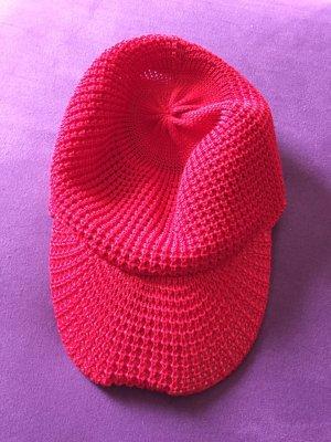 Roeckl Gorra de plato rojo