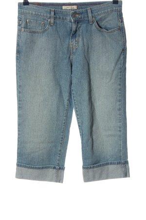 Capri Pantalon 3/4 bleu style décontracté