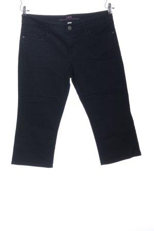 Capri Jeans 3/4 bleu style décontracté