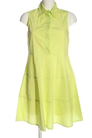 Capri Robe trapèze jaune primevère style décontracté