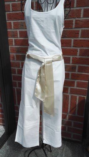 Tchibo / TCM Pantalon 3/4 blanc-doré