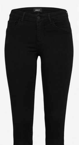 Only Pantalon capri noir