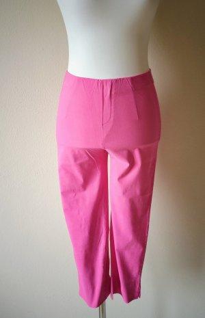 Pantalone Capri fucsia neon-rosa Viscosa