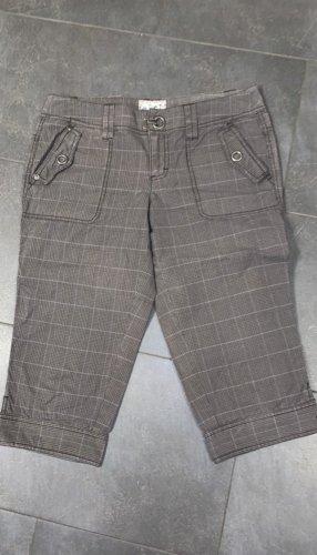 Esprit Spodnie Capri szaro-brązowy