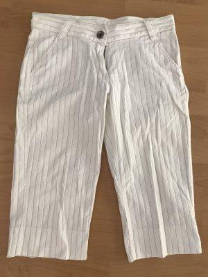 Identic Spodnie Capri biały-czarny