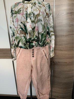 Sublevel Pantalone Capri rosa antico-rosa pallido