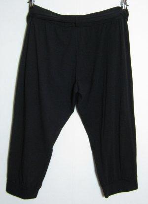 Capri Hose Größe 44/46 Dehnbund Schwarz Stretch