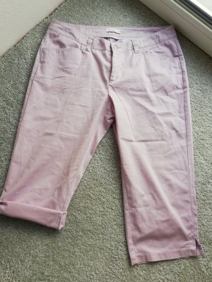Mac Spodnie Capri jasny różowy-jasny fiolet
