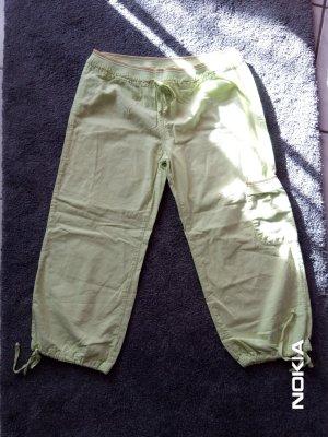Spodnie Capri miętowy