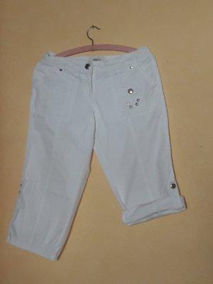 Street One Pantalón capri blanco
