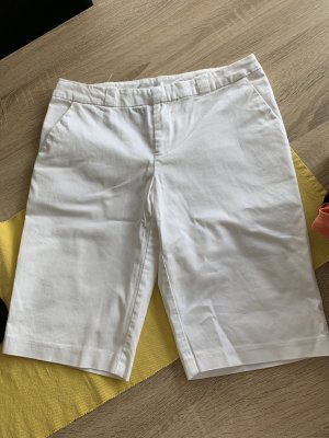 Promod Pantalone Capri bianco