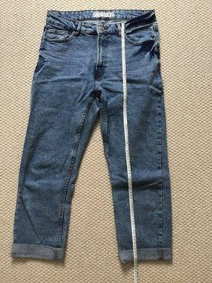 Amisu Jeans a 3/4 multicolore