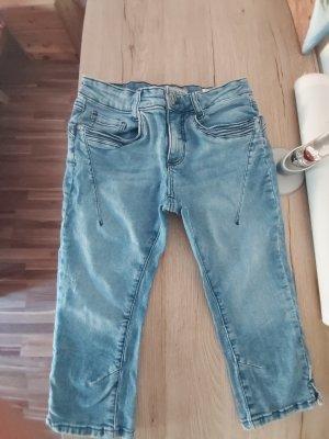 Sublevel Spodnie Capri błękitny