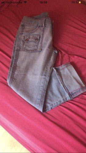 7/8-jeans roze-azuur