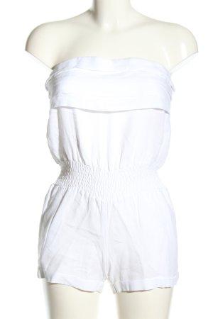 Capri Combinaison blanc style décontracté