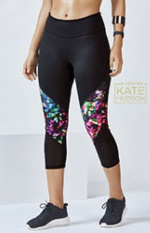Capri Leggings Power Hold von Fabletics, Gr. M