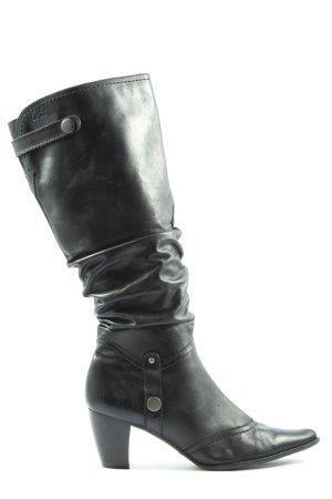 Caprice Absatz Stiefel schwarz Casual-Look